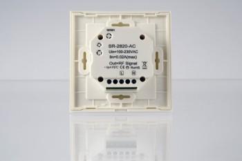 RGBW Touch-Wandsteuerung - 1 Zone - weiß