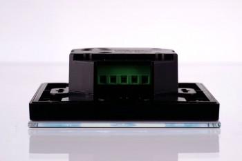 RGBW Wandsteuerung, 4 Zonen, Touch-Bedienfeld, schwarz