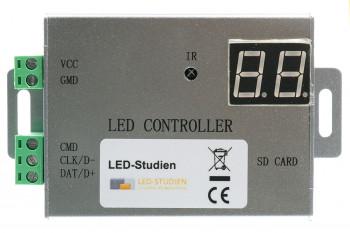 Standalone LED-Pixel-Controller - bis 4.096 Pixel - inkl. SD-Karte
