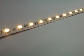 LED-Streifen RGBWW, neue 4in1-Variante, 72 LED/m