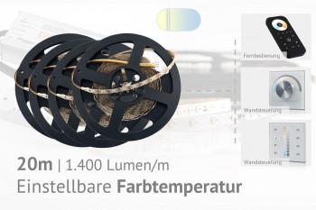 CCT LED-Set: 20 Meter