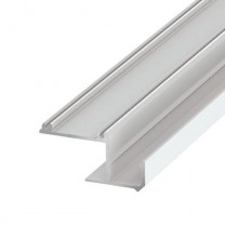 LED-Profil für indirekte Beleuchtung IPA, weiß, 2m