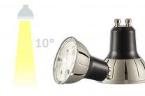 LED-Spot ISOLED, 8W, 10° - 230V GU10