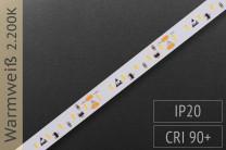 LED-Streifen mit 120 LED/m - 760 lm/m - warmweiß 2.300K