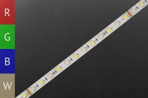 LED-Strip RGBWW, white single-LEDs, 60 LEDs/m, 24V