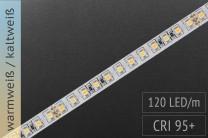 LED-Streifen mit einstellbarer Farbtemperatur & CRI>95