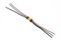 Hochstrom Steckverbinder MR30, 3-polig, bis 15 Ampere