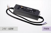 Dimmbares PWM Netzteil 24V, 2.5A, 60 Watt