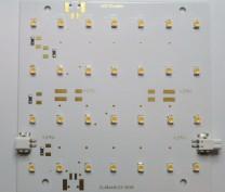 LED-Modul Platine warmweiß 2700K, 4 Steckverb.