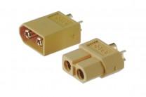 Hochstrom Steckverbinder XT60, bis 60 Ampere