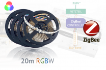 ZigBee-RGBW-LED-Set: 20 Meter