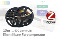 ZigBee-CCT-LED-Set: 15 Meter