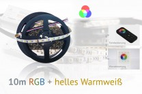 RGB+WW LED-Set: 10 Meter