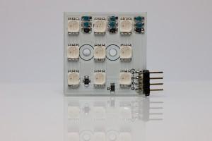 Bausatz LED-Cluster 3x3 inkl. LEDs