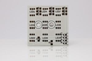 Platine LED-Cluster 3x3 für PLCC6
