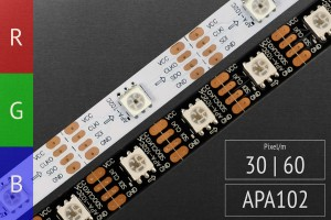 LED-Band digital APA102c - RGB LEDs -5V