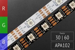 LED-Band digital APA102c - RGB LEDs -5V