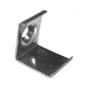 Montageklammer für Eckprofil W12 - Metall