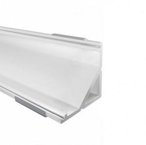 12mm LED-Eckprofil W12, 2m, weiß
