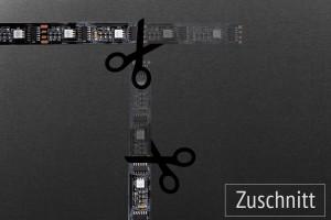 Zuschnitt LED-Streifen für DreamScreen & SEDU-Lights