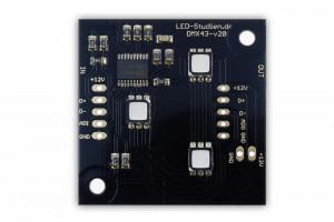 DMX-Pixel 40x40mm, 3 LED, MY9943-IC