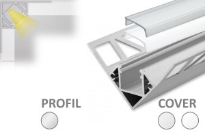 2m Fliesen LED-Profil FP8