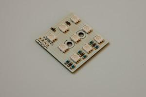 LED-Cluster 3x3 fertig bestückt RGB
