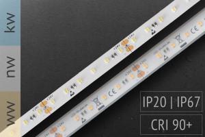 Abverkauf: Akzent-Anwendungen: LED-Streifen 2216 - CRI90 - 120 LED/m - 720 lm/m