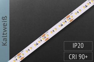 LED-Streifen mit 180 LED/m - 1.350 lm/m - kaltweiß 6.500K