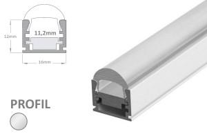 11mm LED-Aufsatz-Profil FOCUS