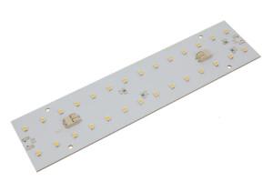 LED-Modul Platine 50x200mm, 2700K, 24V, WAGO