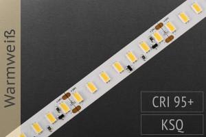 LED-Streifen 5630, CRI>95, 2.300lm/m, warmweiß 3.000K