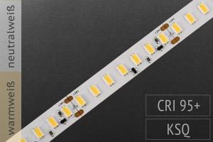 Höchste Farbqualität mit CRI>95: LED-Streifen 5630 - 126 LED/m - 2.300 lm/m