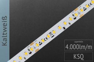 LED-Streifen 2835 KW 6000-6500K, 4.000lm/m, 24V
