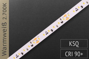 LED-Streifen mit 120 LED/m - 780 lm/m - warmweiß 2.700K