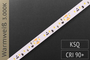 LED-Streifen mit 120 LED/m - 900 lm/m - warmweiß 3.000K