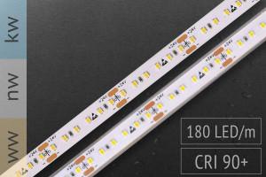 Hochdichter LED-Streifen 2016 - 180 LED/m - teilbar alle 3,3cm - 1.200 lm/m