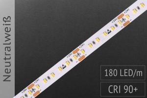 LED-Streifen mit 180 LED/m - 1.200 lm/m - neutralweiß 4.000K