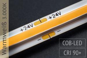 COB LED-Streifen - 14W/m - 3.000K warmweiß