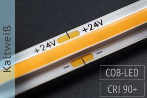 COB LED-Streifen - 14W/m - 6.500K kaltweiß