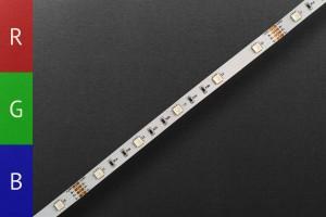 LED-Streifen RGB 3in1, 24V, 30 LEDs/m - 7,2W/m