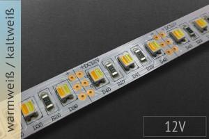 LED-Streifen mit einstellbarer Farbtemperatur, 12V