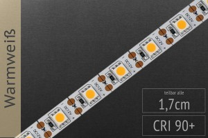 LED-Streifen 5050 - WW 2500K - 1 LED Cut