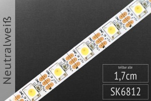 LED-Band digital SK6812 - neutralweiß 4.000K - 60 Pixel/m