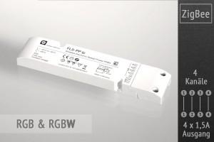 RGB+W ZigBee LED-Controller, 4x1,5A