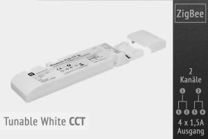 CCT ZigBee LED-Controller | 4 x 1.5A