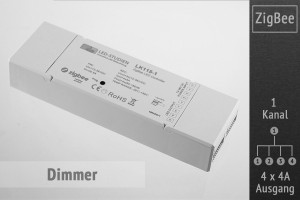 ZigBee LED-Dimmer | 4 x 4A