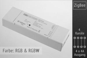 ZigBee RGBW-Controller | 4 x 4A