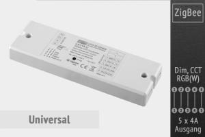ZigBee Universal LED-Controller | 5 x 4A