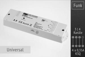 Funk-Controller universal, 4 x 350mA KSQ